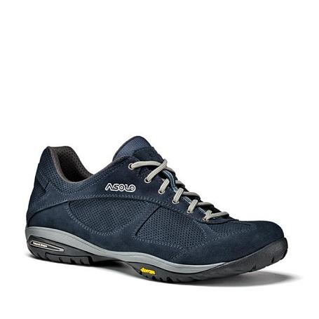 Купить Ботинки для треккинга (низкие) Asolo CALIBER MM BLU NOTTE Обувь города 1148396