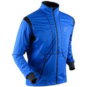 Куртка беговаяОдежда лыжная<br>Теплые и надежные брюки имеют комфортный крой и изготовлены из эластичной ткани, тянущейся в 4-х направлениях для удобства во время движения. Идеально подходят для катания на беговых лыжах и для общего использования. Ветерозащитная водостойкая мембрана спереди сохраняет тело в тепле и сухости.<br><br>Состав:<br>100% ПОЛИЭСТЕР/ 87% ПОЛИЭСТЕР, 13% ЭЛАСТАН<br><br>Пол: Мужской<br>Возраст: Взрослый<br>Вид: куртка