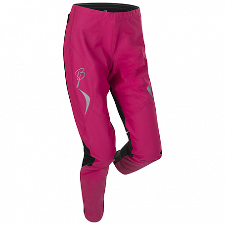 Брюки беговые Bjorn Daehlie JACKET/PANTS Pants PACE Women Beetroot Pink/Black (Розовый/черный)