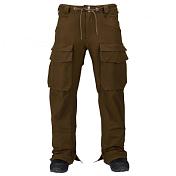 Брюки сноубордическиеОдежда сноубордическая<br>Отлично дышащие и водонепроницаемые брюки созданы для всех сезонов.<br>Мембрана : DRYRIDE Durashell 2-х слойная, <br>Водонепроницаемость 15,000MM, <br>Паропроницаемость 10,000 гр/м2/24 ч,<br>Fully Taped Seams - полностью проклеенные швы,<br>Mesh-Lined Test-I-Cool Venting - закрывающаяся вентиляция.<br>