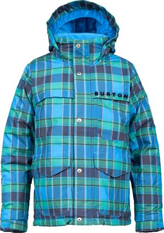 Купить Куртка сноубордическая BURTON 2013-14 BOYS TITAN JK BLUE-RAY SWITCH PLD Детская одежда 1021927