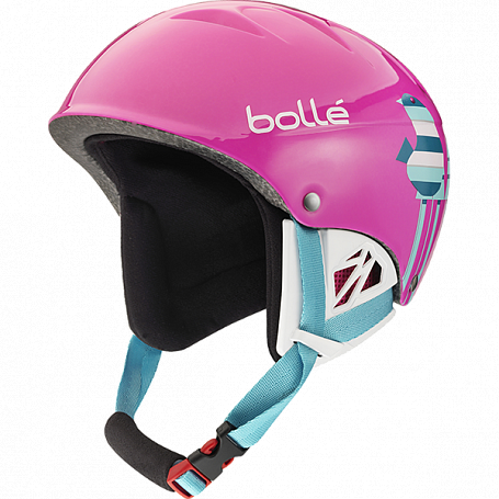 Зимний Шлем Bolle 2015-16 B-KID SHINY PINK BIRDS