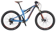 ВелосипедДвухподвесы<br>Двухподвесный велосипед Scott Genius LT 720 Plus 2016. Модель оснащена алюминиевой рамой. Установлены воздушно-масляная вилка FOX 36 Float Performance Air, дисковые гидравлические тормоза, а также полупрофессиональное оборудование. Scott Genius LT 720 Plus 2016<br> <br> Рама и амортизаторы<br> <br> Рама: Genius LT 700 PLUS Alloy 6061 custom butted<br> Вилка: FOX 36 Float Performance Air<br> Задний амортизатор: FOX Float Performance Elite / 3 modes<br> <br> Цепная передача<br> <br> Манетки: SRAM GX1 Trigger right only<br> Передний переключатель: SCOTT Chainguide / DM<br> Задний переключатель: SRAM GX1<br> Шатуны: SRAM Custom GX1 GXP PF<br> Каретка: SRAM GXP PF integrated / shell 41x89.5mm<br> Кассета: SRAM XG1150<br> Цепь: KMC X11L<br> <br> Колеса<br> <br> Обода: Syncros X-40 / 27.5 / Tubeless Ready<br> Спицы: DT Swiss Champion Black 1.8mm<br> Bтулка: Syncros CL811 / Boost 15x110mm<br> Покрышка: Schwalbe<br> <br> Компоненты<br> <br> Передний тормоз: Shimano SLX M675 Disc<br> Задний тормоз: Shimano SLX M675 Disc<br> Руль: Syncros AM1.5 10mm Rise / 35mm<br> Рулевая колонка: Syncros Comp / Tapered 1.5 - 1 1/8<br> Седло: Syncros XM2.0 / CROM rails<br> Подседельный штырь: X-Fusion Hilo Strate custom / 125mm adj.<br><br>Пол: Унисекс<br>Возраст: Взрослый