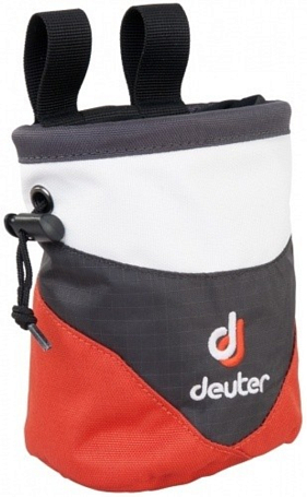 Мешок для магнезии Deuter Accessories Chalk Bag I slate-orange