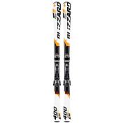 Горные лыжи с креплениями