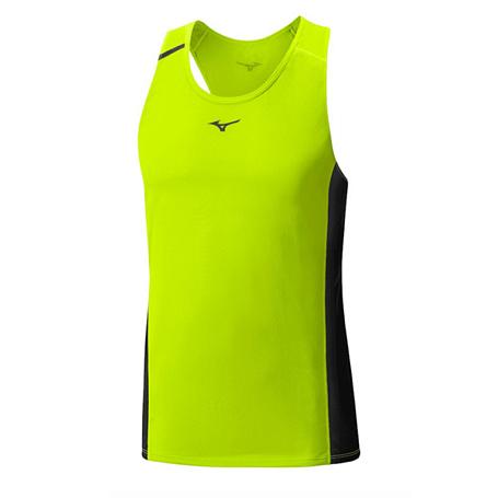 Купить Майка беговая Mizuno 2016 Premium Aero Singlet жёлтый Одежда для бега и фитнеса 1264788