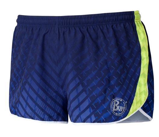 Купить Шорты беговые BUFF RUNNING SHORTS LOCKE (DEEPBLUE) синий, Одежда для бега и фитнеса, 759131