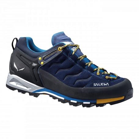 Купить Ботинки для альпинизма Salewa 2017 MS MTN TRAINER GTX Navy/Nugget Gold, Альпинистская обувь, 1157665