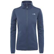 Флис для активного отдыха THE NORTH FACE 2018 W TANKEN FZ JACKET  VANADIS GREY