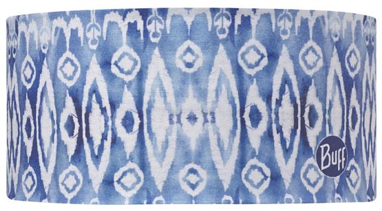 Купить Повязка BUFF Coolmax UV HEADBAND IKAT AQUA, Банданы и шарфы Buff ®, 1185577