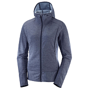 Толстовка беговая Salomon 2019 Right Nice Mid Hoodie W Night Sky