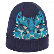 ШапкаГоловные уборы<br>Шапка с тигром для холодной зимней погоды<br> <br> -акрил 100%<br> -двойная, с отворотом