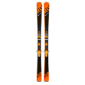 Горные лыжи с креплениями ROSSIGNOL 2017-18 EXPERIENCE 80 HD (XPRESS2)/XPRESS 11 B83 BLACK/ORANGE