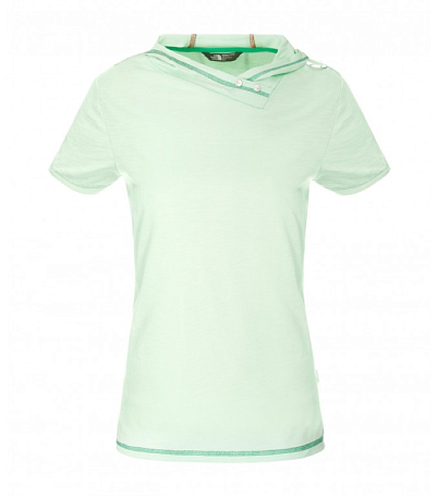 Футболка туристическая THE NORTH FACE 2015 Tekware W FLYARA S/S TEE GREEN ASH V8S
