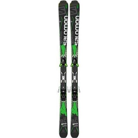 Купить Горные лыжи с креплениями SALOMON 2014-15 X-SERIES M X-Drive 8.0 FS + MXT12 1141126