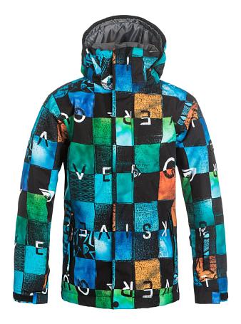 Купить Куртка сноубордическая Quiksilver 2016-17 Mission Print Y B SNJT BYB8 Детская одежда 1279581