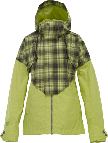 Куртка сноубордическая BURTON 2011-12 Women's the white collection CREDENCE JACKET ALOE FADE OUT
