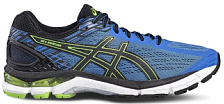 Беговые кроссовки RUN и FITNESS Asics 2018-19 GEL-PURSUE 3 CLASSIC BLUE/BLACK/GREEN GECKO