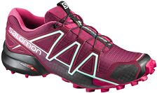Беговые кроссовки для XC SALOMON 2017 SHOES SPEEDCROSS 4 W Tibetred/Sangria/BK