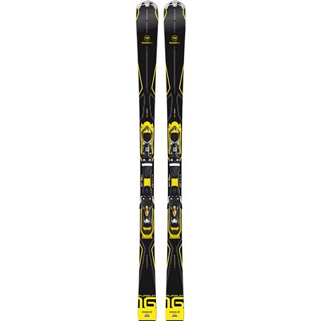 Купить Горные лыжи с креплениями ROSSIGNOL 2014-15 ALL MOUNTAIN PURSUIT 16 TI/Bslt TPX+AXIAL3 120 TPI2 B80 BLACK YEL 1139947