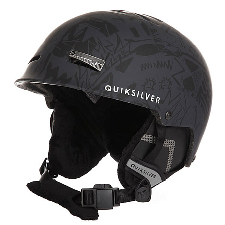 Купить Зимний Шлем Quiksilver 2016-17 SKYLAB M HLMT KVJ9 BLACK Шлемы для горных лыж/сноубордов 1309415