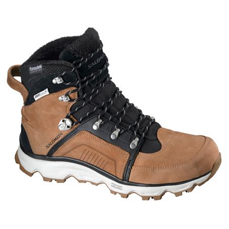 Купить Ботинки городские (высокие) SALOMON 2013-14 Backpacking / Hiking & Winter SWITCH 2 CS WP M SAND/BK/GY, Обувь для города, 1015558