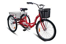 ВелосипедКомфортная посадка<br>Грузовой велосипед Stels Energy I 2016. Модель оснащена алюминиевой рамой. Установлены воздушно-масляная с блокировкой вилка стальная, ножные тормоза, а также начальное оборудование. Stels Energy I 2016 станет прекрасным подарком для каждой поклонницы активного отдыха!<br><br>Рама и амортизаторы<br><br>Рама: алюминий<br>Вилка: стальная<br><br>Цепная передача<br><br>Каретка: VP, сталь<br>Количество скоростей: 1<br>Педали: пластик<br><br>Колеса<br><br>Обода: WEINMANN, алюминий, двойные<br>Bтулка: KT, сталь<br>Покрышка: INNOVA, 26x2.0<br><br>Компоненты<br><br>Передний тормоз: TEKTRO, V-типа; задний ножной<br>Задний тормоз: TEKTRO, V-типа; задний ножной<br>Рулевая колонка: VP, сталь<br>Седло: Cionlli<br><br>Пол: Унисекс<br>Возраст: Взрослый