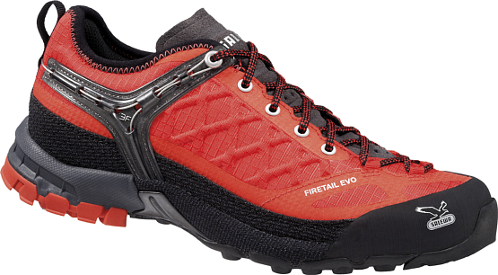 Треккинговые кроссовки Salewa 2015 Tech Approach WS FIRETAIL EVO Poppy Red/Flame /