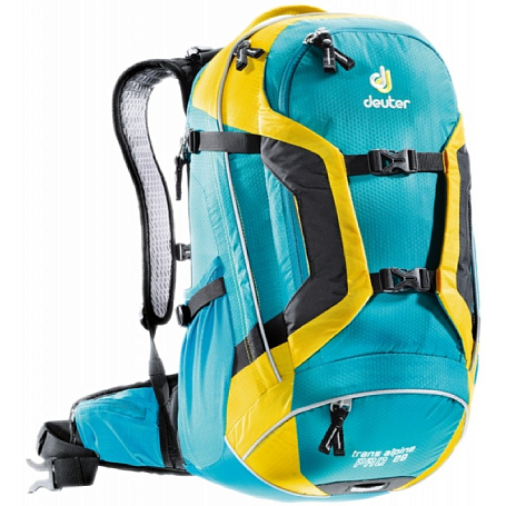 Рюкзак Deuter 2015 Bike Trans Alpine Pro 28 petrol-lemon