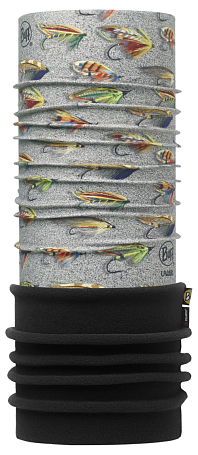 Купить Бандана BUFF Polar Buff POLAR SALMON FLIES SAND Банданы и шарфы ® 1185805