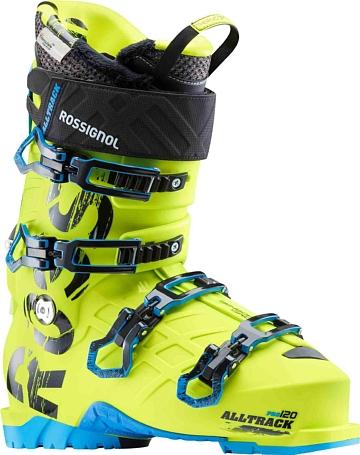 Купить Горнолыжные ботинки ROSSIGNOL 2017-18 ALLTRACK PRO 120 YELLOW Ботинки горнoлыжные 1363781
