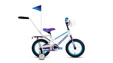 Велосипед Forward Meteor 14 2017 Белый/фиолетовый