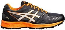 Беговые кроссовки для XC Asics 2018-19 Gel-FujiSetsu 2 G-TX Performance Black/Shocking Orange