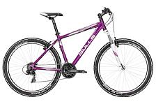 ВелосипедГорные спортивные<br>Женский хардтейл, подходящий для кросс-кантрийного стиля катания. Универсальный велосипед, специально разработанный для девушек. В своём арсенале, что отличает его от предыдущей модели, имеет более накатистые мощные колёса 27,5 дюймов шириной 2,25, ободные тормоза, надёжную трансмиссию Shimano и амортизационную вилку с ходом 100мм. Облегчённая алюминиевая рама с уникальным дизайном подчёркивает женские черты и шарм. Байк представлен в двух расцветках: нежный фиолетовый и белоснежный. Будет надёжным другом и украшением как, начинающей, так и опытной велосипедистки!<br><br>Группа Nandi<br>Год 2016<br>Пол Женский<br>Вид катания Прогулки, Фитнес<br>Условия Грунт, Бездорожье<br>Размер колёс 27.5<br>Рама велосипеда 7005 Aluminium<br>Вилка SUNTOUR, XCT-P, 100 mm, einstellbar<br>Тип тормозов V-brake<br>Количество скоростей 24<br>Передний переключатель SHIMANO, FD-TX50<br>Задний переключатель SHIMANO, RD-TX800, BLACK<br>Манетки Shimano<br>Руль 620mm<br>Обмотка руля / грипсы VELO 125 mm<br>Рулевая колонка 1-1/8 AHEAD SET, STEEL BLACK, W/WATER PROOF<br>Вынос AS-601, 25.4 mm<br>Тормозные ручки SHIMANO, ST-EF51A, BLACK, 2-FINGER<br>Передний тормоз TEKTRO, 837AL-EN, V-BRAKE, ALLOY BLACK<br>Задний тормоз TEKTRO, 837AL-EN, V-BRAKE, ALLOY BLACK<br>Передняя втулка FORMULA, OV-31FQR, ALLOY ANODIZED MATT BLACK<br>Задняя втулка FORMULA, OV-30-8RQR, ALLOY ANODIZED MATT BLACK<br>Обода колес STYX DBM-1<br>Покрышки KENDA, K-1168<br>Цепь KMC, Z-72<br>Система Suntour XCC, 42/32/22T<br>Педали WELLGO, LU-C4S<br>Подседельный штырь aluminium<br>Седло STYX<br>Модель Nandi 27,5 &amp;#40;2016&amp;#41;<br>Размер 14.5, 16, 18<br>Бренд Bulls<br>Цвет&amp;nbsp;&amp;nbsp;Фиолетовый<br><br>Пол: Женский<br>Возраст: Взрослый