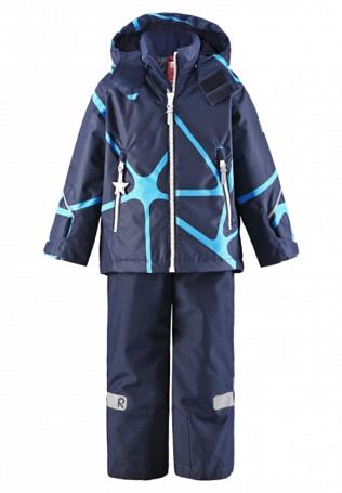 Купить Комплект горнолыжный Reima 2016-17 KIDDO KIDE СИНИЙ Детская одежда 1286655