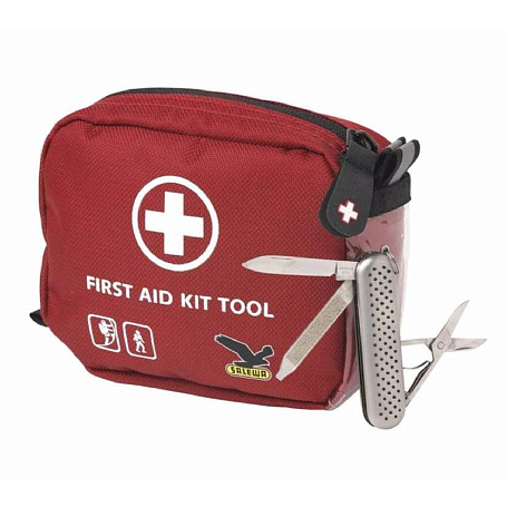 Аптечка Salewa First Aid & Bivibag First Aid Kit Tool red