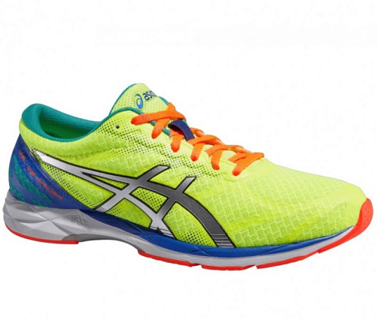 Марафонки Asics 2015 GEL-DS RACER 10 желт./серебр./син.