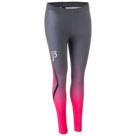 Купить Тайтсы беговые Bjorn Daehlie TOPS/TIGHTS Tights IGNITE Long Women Black/pink / Черный/Розовый Одежда для бега и фитнеса 1181925