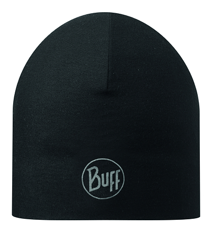 Купить Шапка BUFF MICROFIBER REVERSIBLE HAT R-SOLID BLACK, Банданы и шарфы Buff ®, 1169189