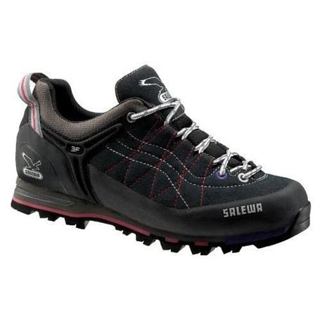 Купить Ботинки для альпинизма Salewa Alpine Approach WS MTN TRAINER carbon-azalea, Треккинговая обувь, 806574