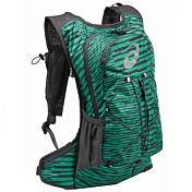 Рюкзак Asics 2017 Lightweight Running Backpack Серый/зеленый