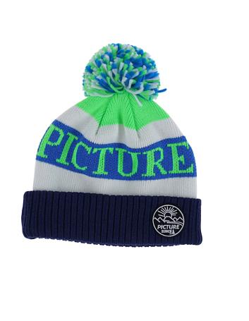 Купить Шапка Picture Organic 2016-17 IGOR D Green/White/Blue Головные уборы, шарфы 1306661