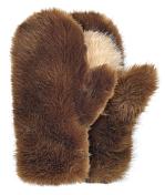 Варежки BREKKA 2015-16 ERMIONE MITTEN BRW / коричневый