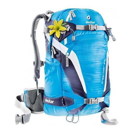 Купить Рюкзак Deuter 2015 Alpine Winter Freerider 24 SL turquoise-blueberry Рюкзаки для фрирайда 1073038