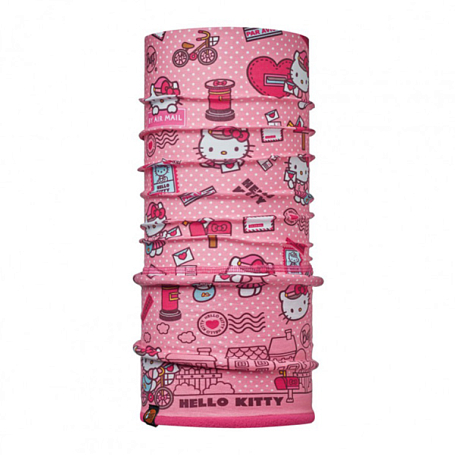 Купить Бандана BUFF HELLO KITTY CHILD POLAR MAILING ROSE / DRAGON FRUIT Детская одежда 1263960