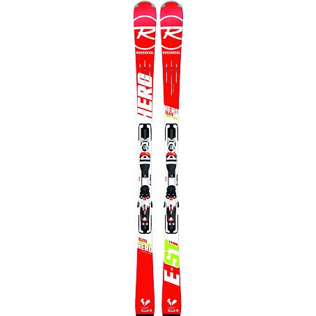 Купить Горные лыжи с креплениями ROSSIGNOL 2014-15 RACE HERO ELITE ST Ti+AXIAL3 120 TPI2 B80 WHITE RED 1139931