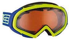 Очки горнолыжныеОчки горнолыжные<br>Современный линии и изысканный дизайн. Сферическая линза с необычайно широким обзором. Совместима со шлемами.<br>Особенности:<br>- двойной фильтр;<br>- антифог.