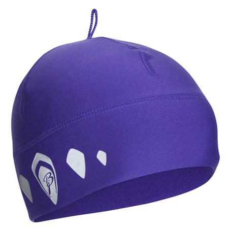 Купить Шапка Bjorn Daehlie Hat POLYKNIT Small (Deep Blue) т. фиолетовый Головные уборы, шарфы 709467