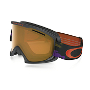 Очки Горнолыжные Oakley 2016-17 O2 XL Distressed Paint Purple Iron/persimmon