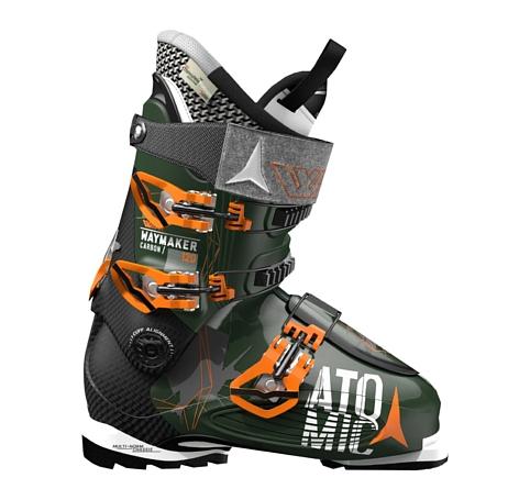 Купить Горнолыжные ботинки Atomic 2016-17 WAYMAKER CARBON 120 Dark Green/Black / Темно-зеленый, черный Ботинки горнoлыжные 1272357